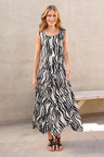 Euro Edit Printed Dress