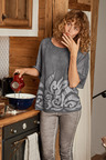 Heine Sequin Embroidered Top
