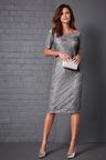 Kaleidoscope Lace Overlay Dress