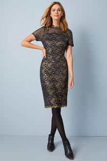 Kaleidoscope Lace Dress - 248276