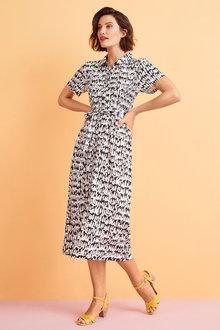 Capture Knit Shirred Maxi Dress - 248286
