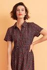 Capture Knit Shirred Maxi Dress