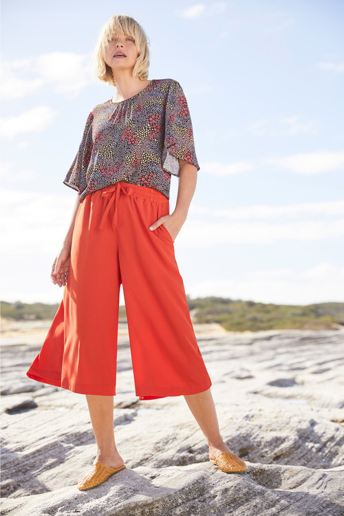 Emerge Flutter Sleeve Top