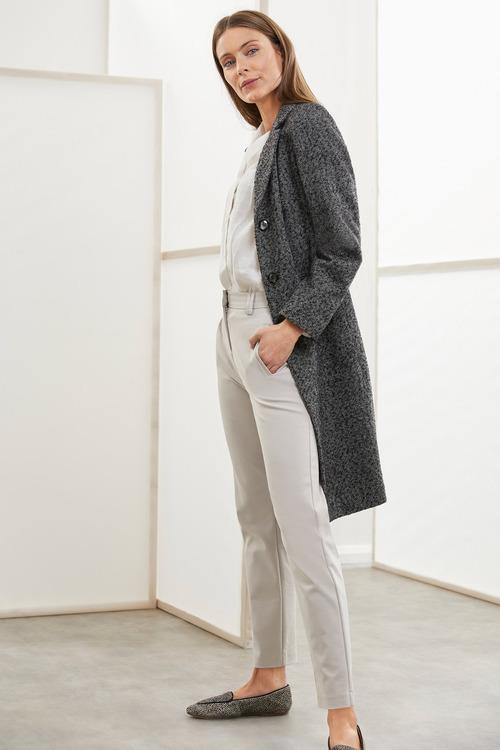 Grace Hill Tweed Classic Coat