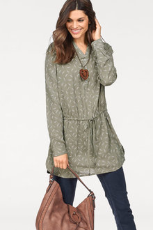 Urban Drawstring Tunic - 248397