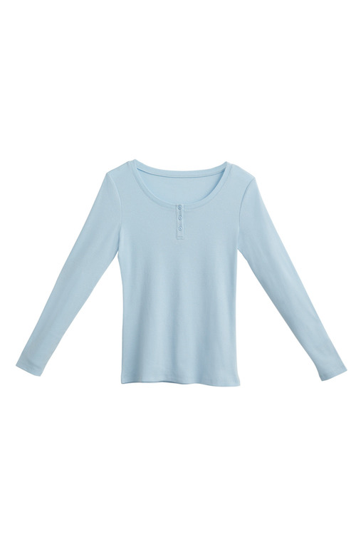 Mia Lucce Long Sleeve Henley