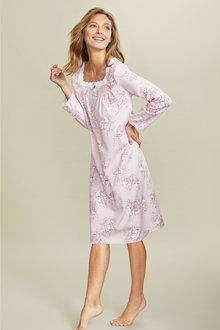 Mia Lucce Flannel Long Sleeve Nightie - 248427