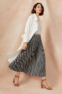 Grace Hill Pleated Skirt - 248474