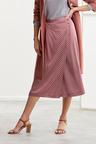 Grace Hill Printed Wrap Skirt