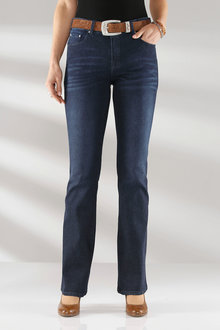 Euro Edit Superstretch Bootleg Jeans - 248478