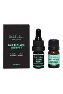Black Chicken Remedies Face Renewal Mini Pack