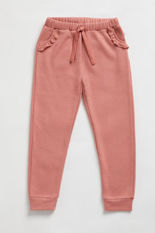 Pumpkin Patch Fleece Lace Trim Jogger - 248509
