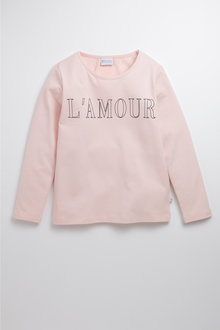 Pumpkin Patch L'Amour Print Tee