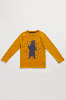 Pumpkin Patch Organic Bear Rock Tee - 248520