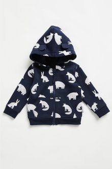 Pumpkin Patch Fleece Woodland Hoodie - 248528