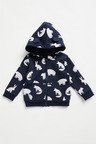 Pumpkin Patch Fleece Woodland Hoodie
