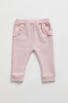 Pumpkin Patch Fleece Lace Trim Jogger - 248532