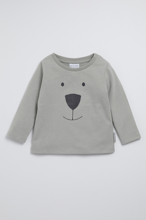Pumpkin Patch Organic Hello Bear Tee
