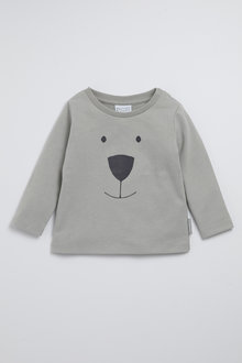 Pumpkin Patch Organic Hello Bear Tee - 248535