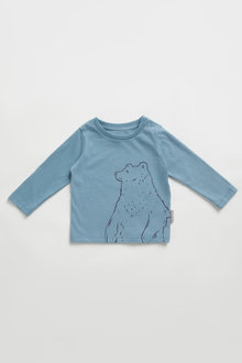 Pumpkin Patch Organic Bear Tee