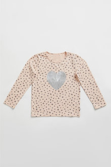 Pumpkin Patch Wild Heart Tee - 248540