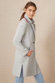 Capture Classic Knit Coat - 248551