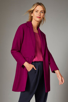Capture Wool Blend Coat - 248553