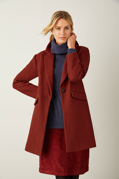 Capture Wool Blend Coat