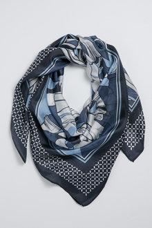 Silk Floral Scarf - 248612