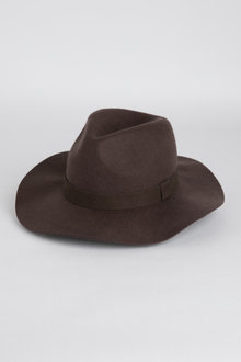 Wide Brim Felt Hat - 248615