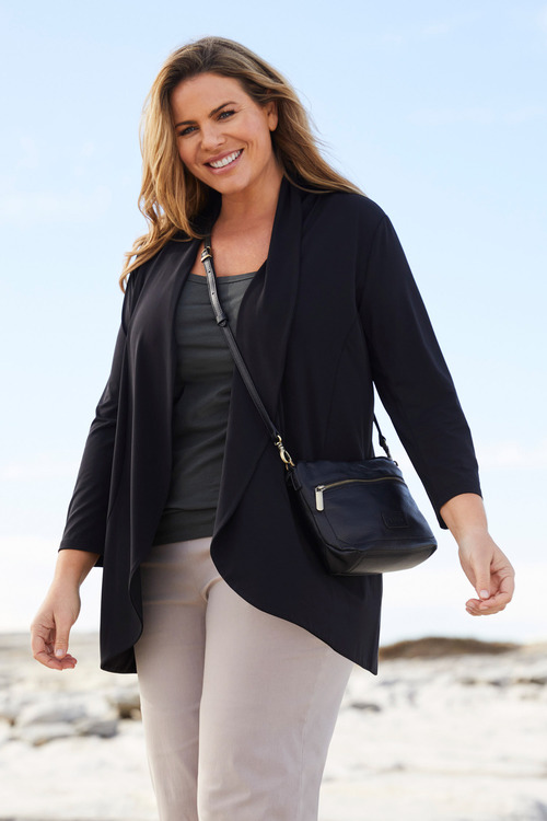 Plus Size - Sara Dry Knit Jacket