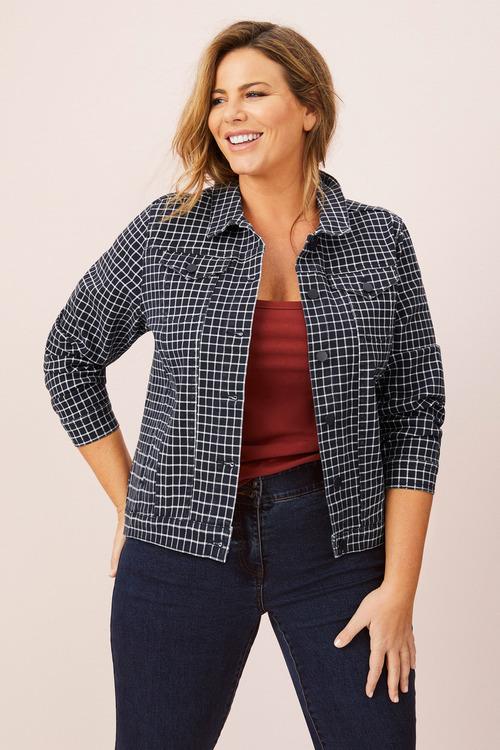 Sara Printed Jacket