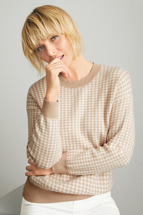 Emerge Jacquard Sweater