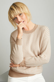 Emerge Jacquard Sweater