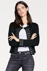 Heine Eyelet Detail Knit Jacket