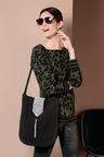 Heine Animal Print Sweater