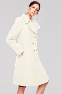 Heine Wool Blend Military Coat - 248705