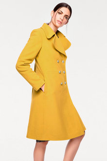 Heine Wool Blend Military Coat