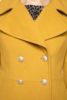 Heine Wool Blend Military Coat