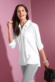 Euro Edit Silk Shirt - 248735