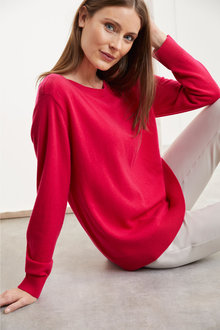 Simply You Cashmere Boatneck Sweater - 248789