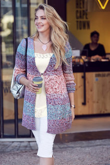 Urban Multi Colour Cardigan - 248811