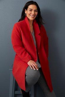 Sara Longline Coat - 248846