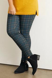 Sara Printed Ponti Pants - 248851
