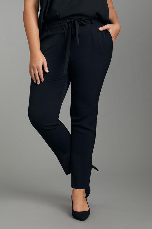 Plus Size - Sara Bow Waist Pants