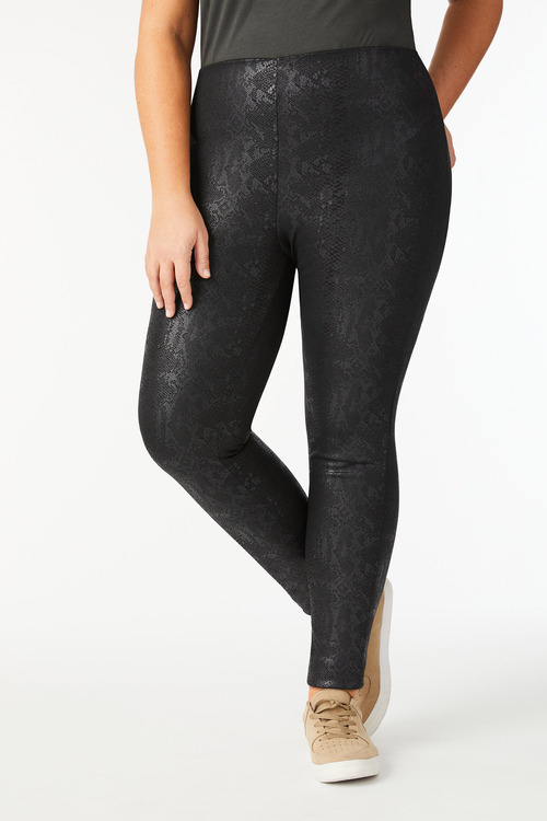 Sara Animal Print Ponti Pants