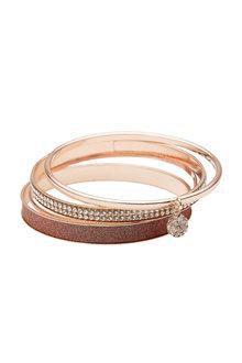 Amber Rose Multi Bracelet Set