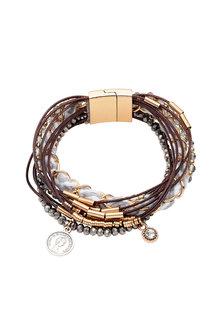 Amber Rose Multi Strand Bracelet - 248952
