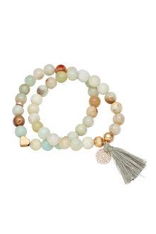 Amber Rose Mandalay Stretch Bracelet Set - 248956