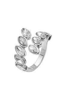 Amber Rose Cascade Stone set Crystal Ring - 248959